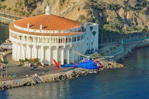 Island Express Helicopter Catalina Island
