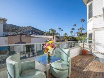 Catalina Island Hotel Glenmore Plaza Balcony view