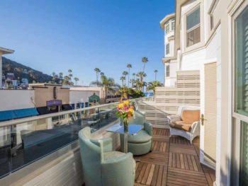 Catalina Island Hotel Glenmore Plaza Balcony