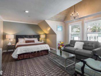 Catalina Island Hotel Glenmore Plaza Charley Chaplin suite