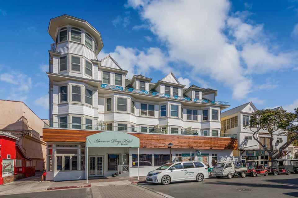 Catalina Island Hotel Glenmore Plaza Exterior landscape