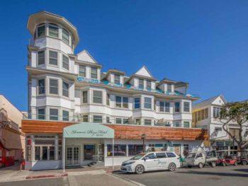 Catalina Island Hotel Glenmore Plaza Glenmore exterior wide