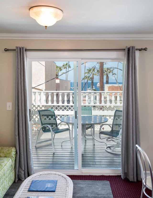 Catalina Island Hotel Glenmore Plaza Sundeck Suite Balcony
