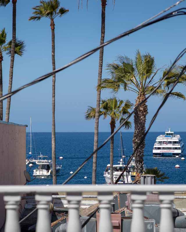 Catalina Island Hotel Glenmore Plaza Sundeck Suite View