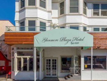 Catalina Island Hotel Glenmore Plaza exterior portrait
